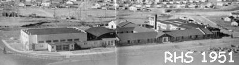 RHS in the early 50s